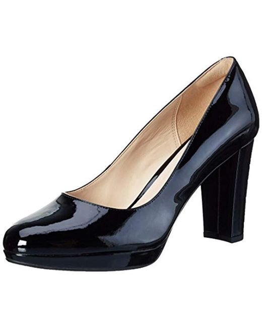 dde93f6130ad Clarks  s Kendra Sienna Closed-toe Pumps in Black - Save 19% - Lyst