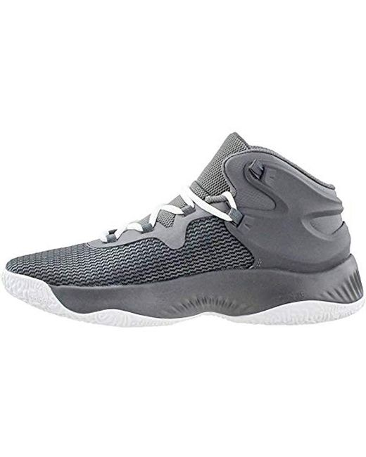 dc2fa4ab8 ... Adidas - Gray Explosive Bounce Running Shoe for Men - Lyst ...