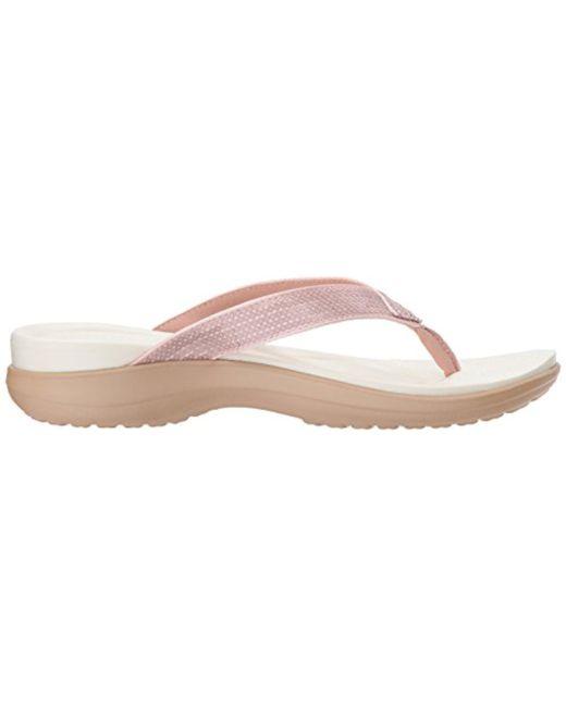 Sequin Capri Rqw86xry Estate Beige Crocs Shoes V Women Amazon fybY7g6v