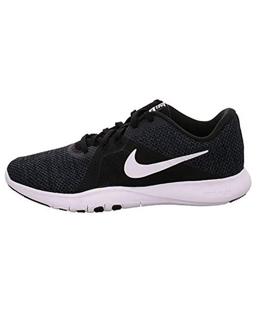 ff03eb61448f Nike W Flex Trainer 8 Fitness Shoes in Black - Save 84% - Lyst