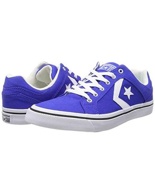 75f277b093867d ... Converse - Blue Lifestyle Cons El Distrito Ox Cotton