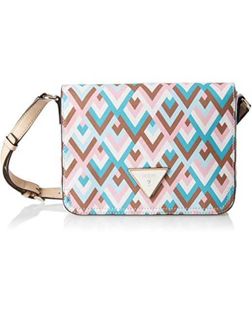 f1d0e82f2bb Guess Kamryn,  s Cross-body Bag, Multicolour (geo multi gmt), 25.5 ...