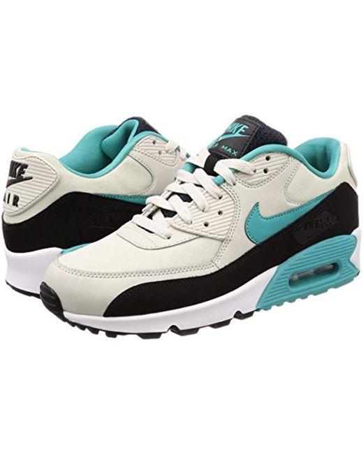 new concept 9712b 2d021 ... Nike - Multicolor Air Max 90 Essential Gymnastics Shoes Black for Men -  Lyst ...