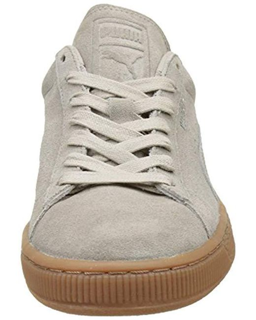3fc5721ea5735b ... PUMA - Natural Unisex Adults  Suede Classic Citi Low-top Sneakers for  Men ...