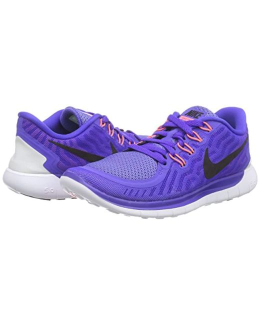 Nike   s Free 5.0 Running Shoes in Purple - Save 59.905660377358494 ... 356fe94f9