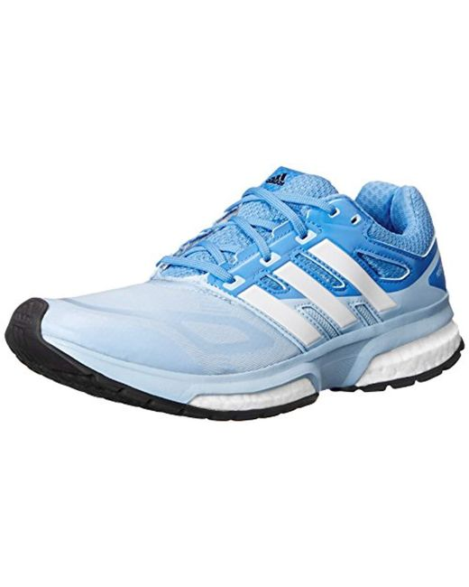 new product 7e6e4 f9b66 Response Boost Shoe Techfit In Adidas Running Blue Performance Lyst  xnc7wBWEB
