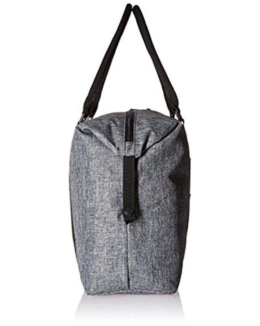 Lyst - Herschel Supply Co. Strand Duffle Bag in Black for Men - Save ... 3f68fa99ccc56