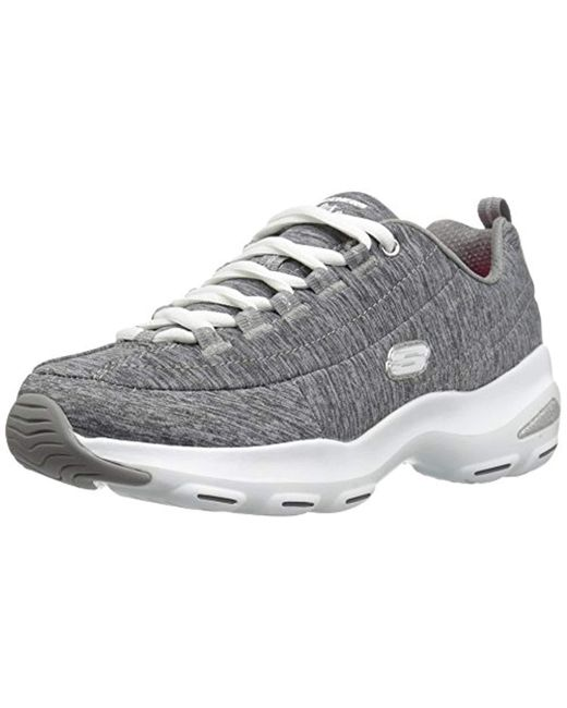 7fd5a47837f6 Skechers - Gray D lite Ultra Meditative Trainers - Lyst ...