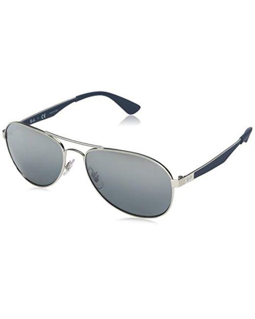 eab49d5e233 Ray-Ban - Metallic Metal Man Aviator Sunglasses