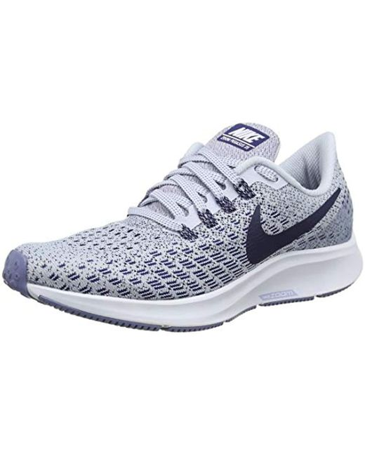 buy online 93448 3fdff Women's Blue Air Zoom Pegasus 35 Running Shoes