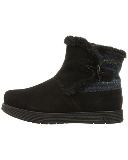 Women's Adorbs-Sweater Trimmed Snow BootBlack7 M US