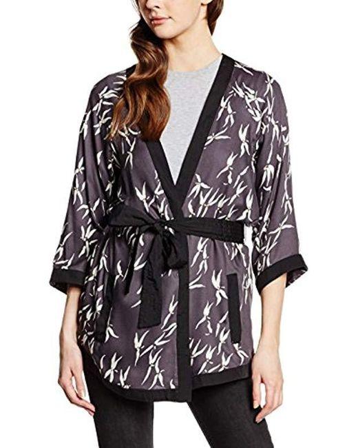 Vero Moda - Blue 3/4 Sleeve Kimono - Lyst