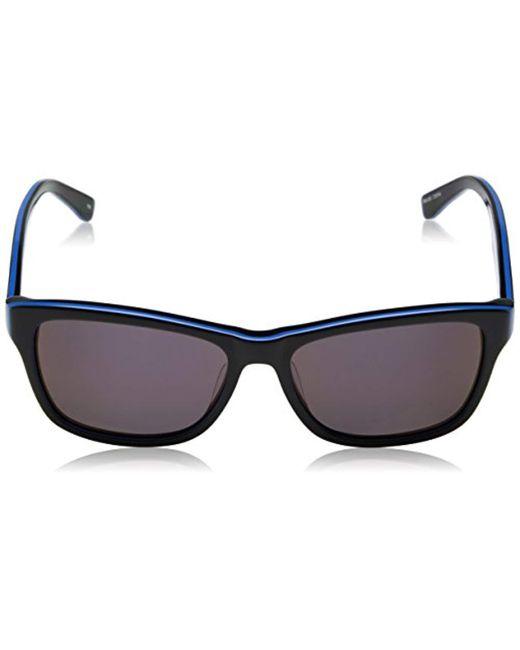 8e0403486ccb ... Lacoste - Black Classic Wayfarer Sunglasses for Men - Lyst ...