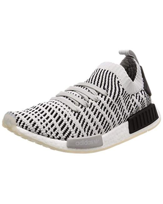 207354487ca5d adidas  s Nmd r1 Stlt Primeknit Trainers in Gray for Men - Save 57 ...