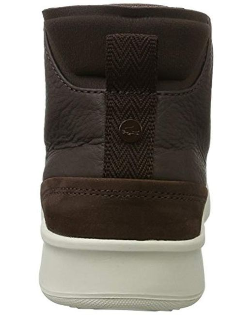 fb30dcd125ca7 ... Lacoste - Brown  s Explorateur Classic 317 1 High-top Trainers for Men  ...