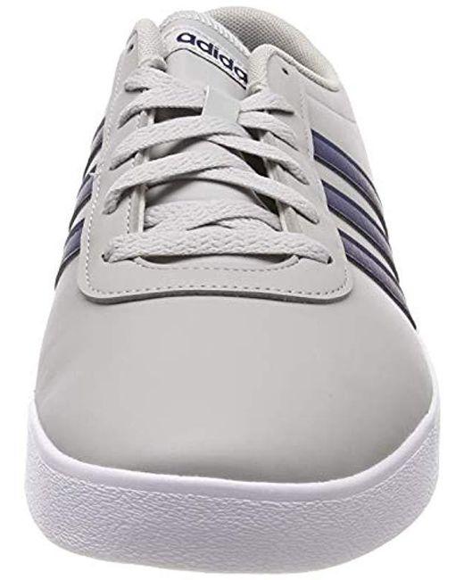 ... Adidas - Gray Easy Vulc 2.0 Skateboarding Shoes for Men - Lyst ... 935683f4f