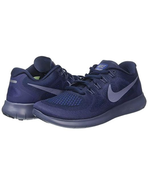 e8d40c2d78ed Nike Free Rn 2017 Running Shoes in Blue for Men - Save 71% - Lyst