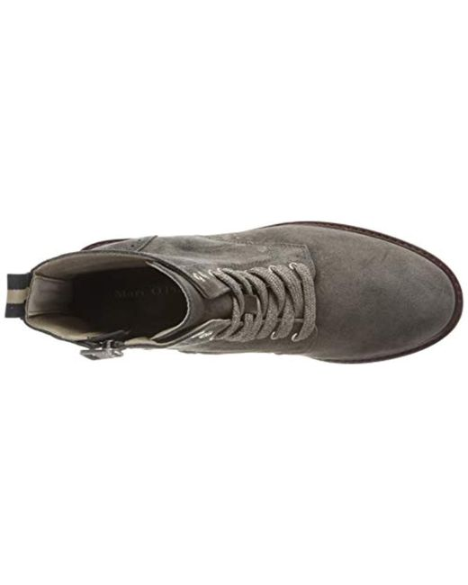 buy popular 3f887 0ab1a Marc O'polo Bootie Chelsea Boots in Gray - Lyst
