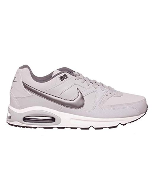 5ee6023abe62 Nike  s Air Max Command Leather Sneakers in Gray for Men - Lyst