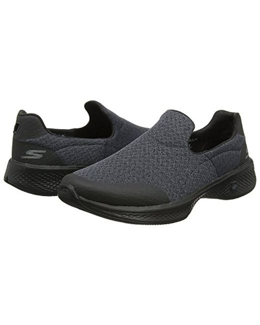 58ff3ccd066 Skechers - Black Performance Go Walk 3 Slip-on Walking Shoe for Men - Lyst  ...