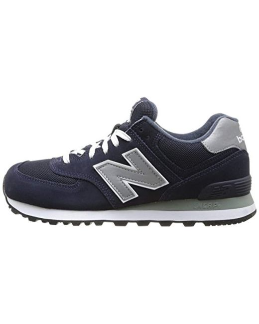 New Balance New Balance M574 Blue Grey for Men Lyst