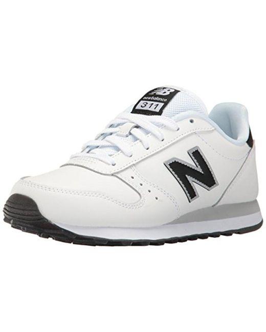 New Balance - White 311 Lifestyle Fashion Sneaker - Lyst