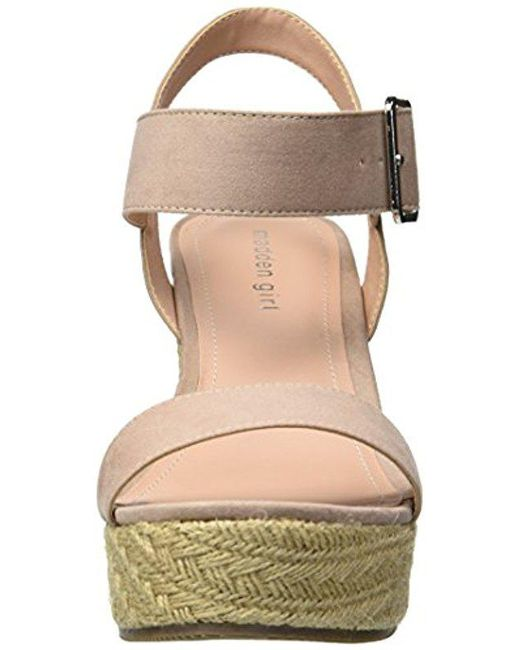 aeac36cecfe ... Madden Girl - Natural Vail Espadrille Wedge Sandal - Lyst ...