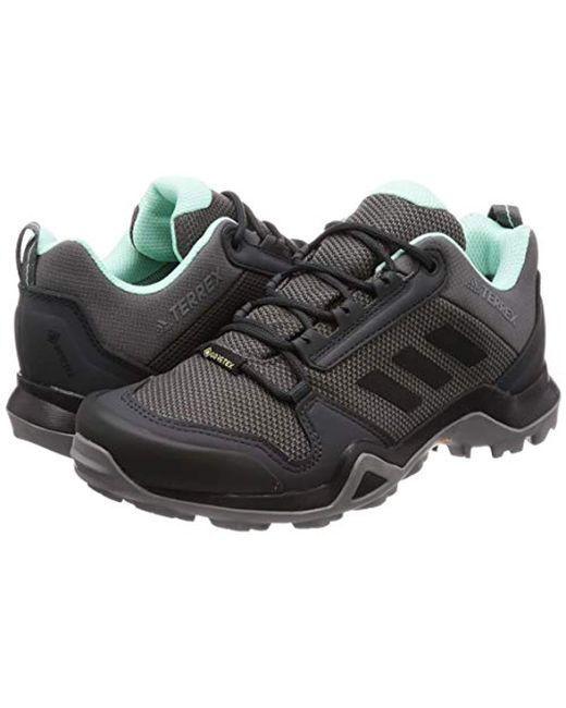 62755775b96 ... Adidas - Gray Terrex Ax3 Gtx W Trail Running Shoes - Lyst ...