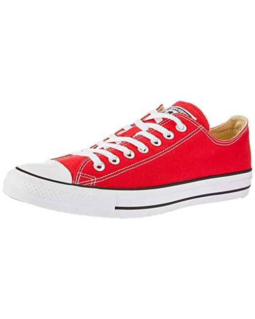 b53142b7d2df Converse Trainers Red in Red for Men - Save 84% - Lyst