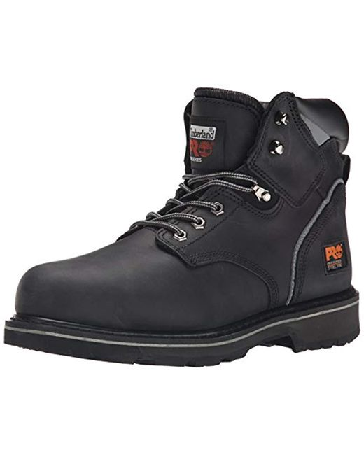Timberland - Black 6 Pit Boss Steel Toe (gaucho Oiled Full-grain Leather) Men's Work Lace-up Boots for Men - Lyst