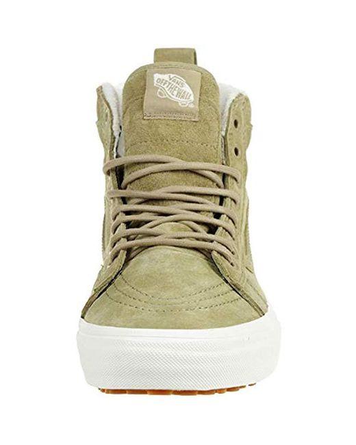 Vans Sk8-hi Classic Unisex-adults Hi Top Lace-up Sneaker for Men - Lyst 64f4ea780