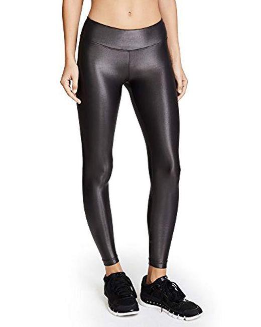 c0845a2bd48821 Koral - Black Lustrous Legging - Lyst ...