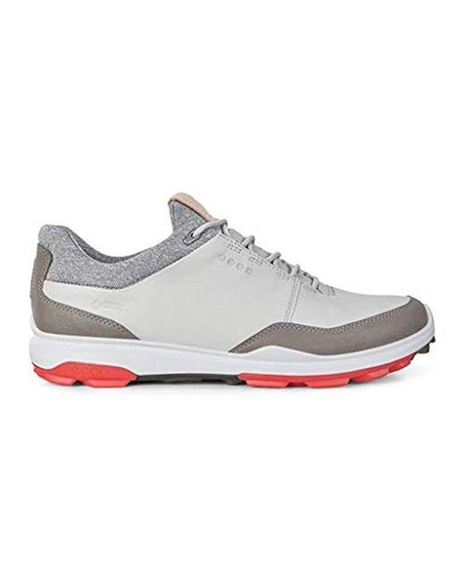 Ecco - White Biom Hybrid 3 Gore-tex Golf Shoe, for Men - Lyst