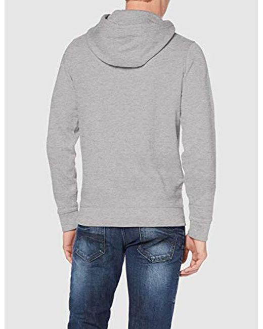 e77db69c ... Tommy Hilfiger - Gray Essential Graphic Hoodie Sweatshirt for Men - Lyst