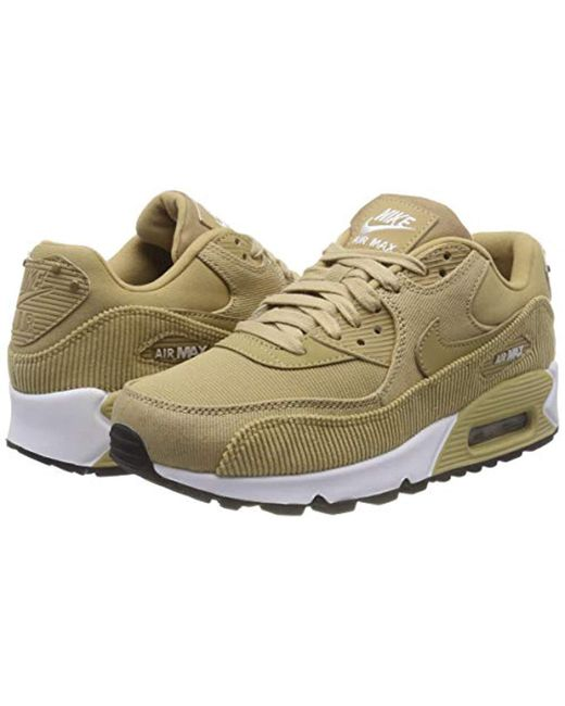 c2c27501c1e77f ... Lyst Nike - Natural Wmns Air Max 90 Lea Sneakers