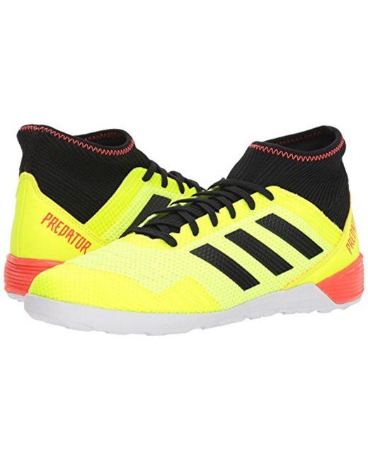 b3141938ad36 ... Adidas - Yellow Predator Tango 18.3 Indoor Soccer Shoe for Men - Lyst  ...
