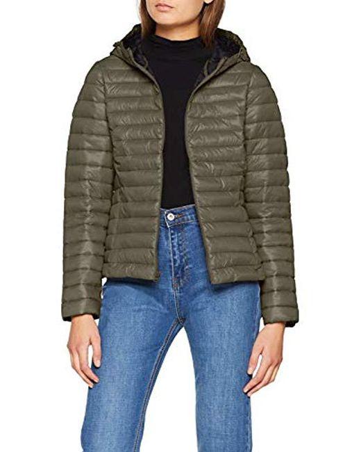 Wrangler - Green Puffer Jacket - Lyst