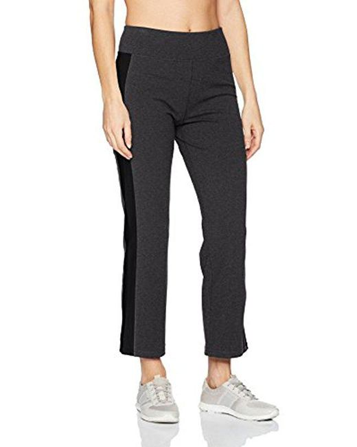 CALVIN KLEIN 205W39NYC - Gray Performance High Waist Side Stripe Crop Flare Pant - Lyst