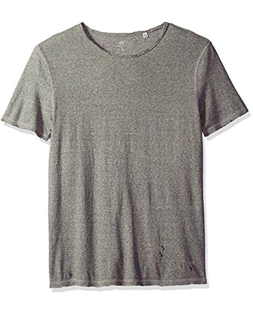 AG Jeans - Gray Ramsey Short Sleeve Vintage Jersey Crew for Men - Lyst