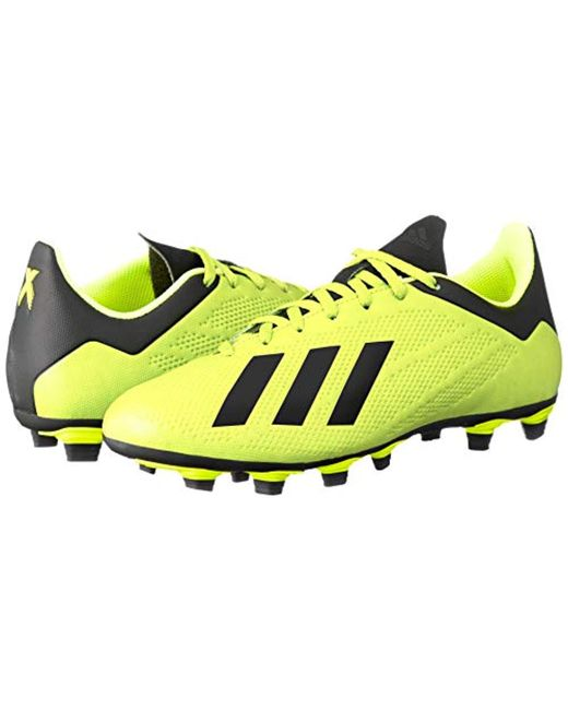 sports shoes 43231 49d05 ... Adidas - Yellow X 18.4 Fg Footbal Shoes for Men - Lyst ...