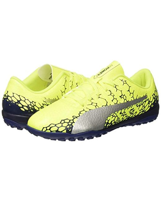 a7eaa1457896 ... PUMA - Yellow Evopower Vigor 4 Graphic Tt Football Boots for Men - Lyst  ...