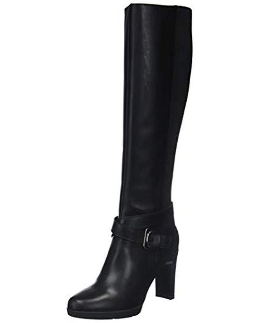In Geox High F Lyst Black Boots 's D Annya wtYpSwx