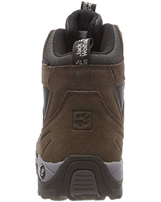 6849ca5ae3 ... Jack Wolfskin - Brown Vojo Hike Mid Texapore, S Trekking And Hiking  Boots - Lyst ...