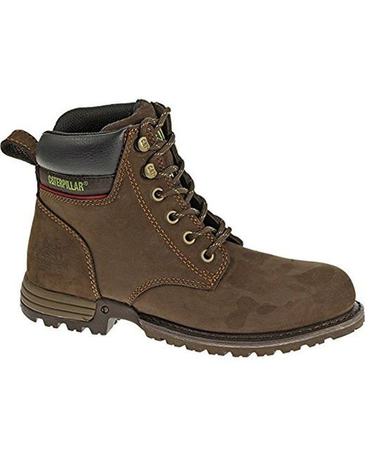 a03e83219c56 Lyst - Caterpillar Freedom Steel Toe Work Boot in Brown for Men