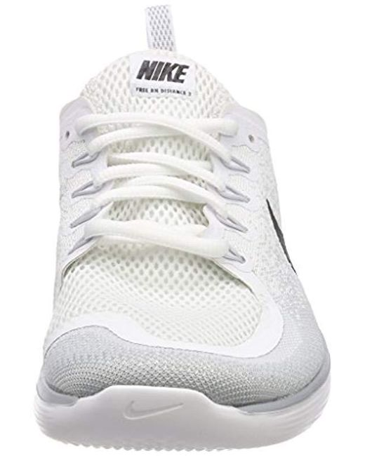 a37cfd1b12af Nike Free Rn Distance 2 Running Shoes in Gray for Men - Save 3% - Lyst