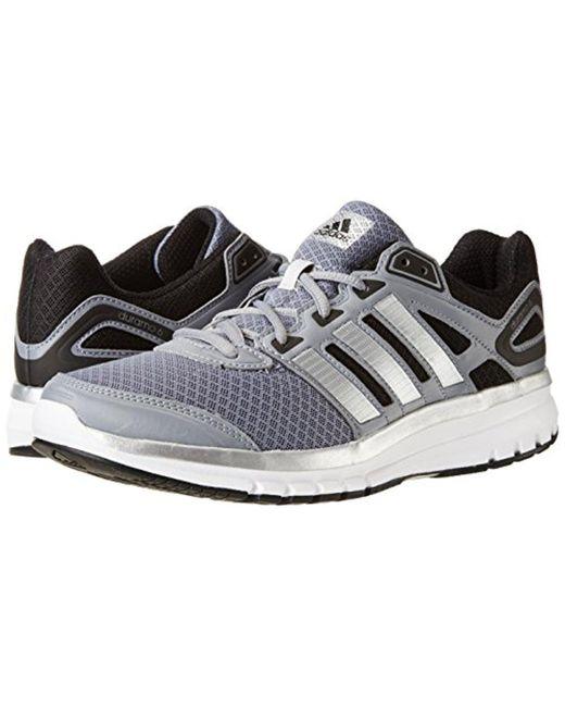 lyst adidas performance duramo 6 m di scarpe da corsa in grigio per gli uomini.