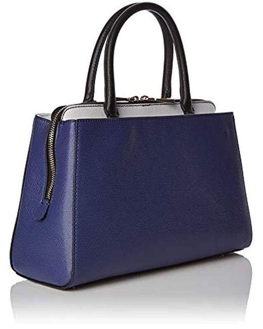 Guess Navy Blue Handbag With White Details in Blue - Save 13% - Lyst 1b3b7040790f0