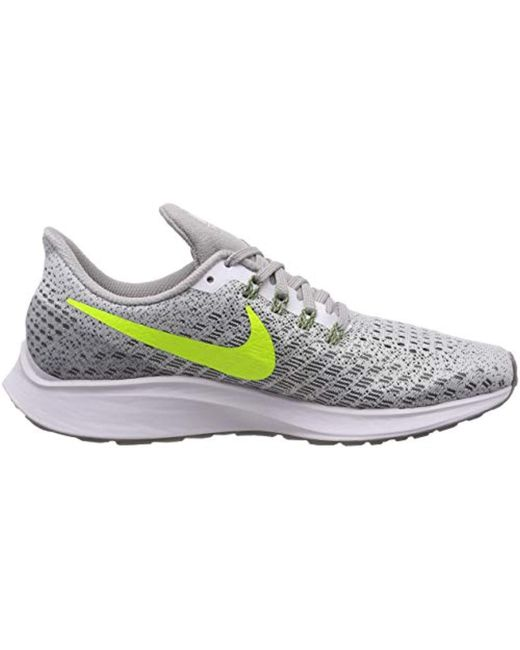 differently 31c90 1462e Nike Air Zoom Pegasus 35 Running Shoes in White for Men ...