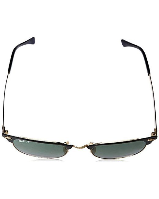 33898b83a2 Lyst - Ray-Ban Clubmaster Metal Sunglasses in Black - Save 20%