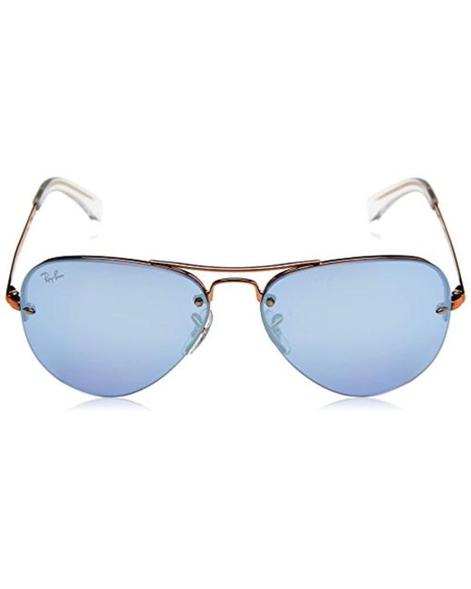 00fefd70bc ... Ray-Ban - Multicolor Metal Man Sunglass Non-polarized Iridium Aviator